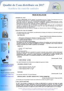 Exemples d'analyse de la qualité de l'eau