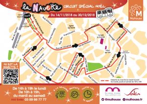Itinéraire de la Navette 2018