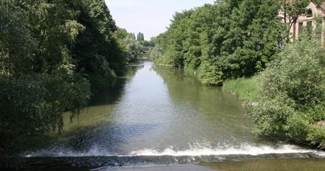 Mulhouse Diagonales : Parc des Berges de l'Ill