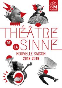 Programme du Théâtre de la Sinne - saison 2018-2019