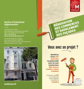 Rénovation des commerces et ravalement des façades