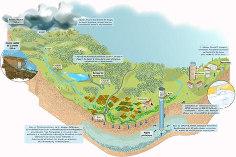 Schéma Cycle de l'eau