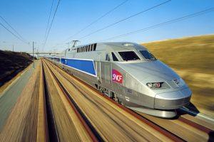 TGV à Mulhouse