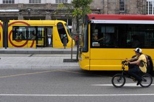 Transports à Mulhouse