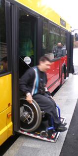 Transports en commun et handicap