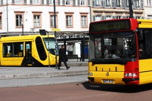 Transports en commun à Mulhouse