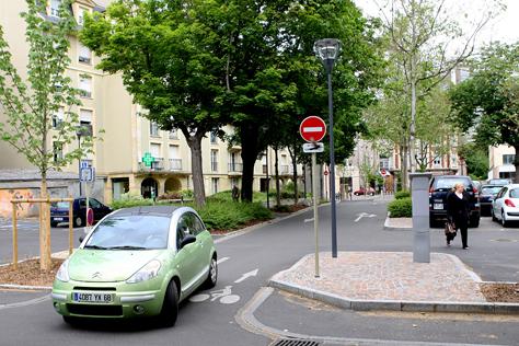 Zones et parkings de stationnement