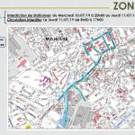 Tour de France - Mulhouse - Restrictions de circulation - zone 2
