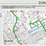 Tour de France - Mulhouse - Restrictions de circulation - zone 3
