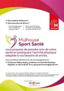Mulhouse Sport Santé - Flyer