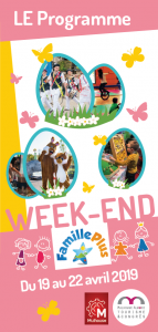 Programme du Week-end Famille Plus 2019