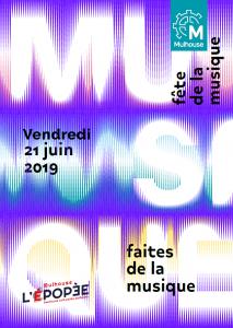 Programme Fête de la Musique Mulhouse 2019
