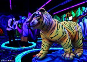 Tigre fluorescent