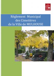 Règlement municipal des cimetières