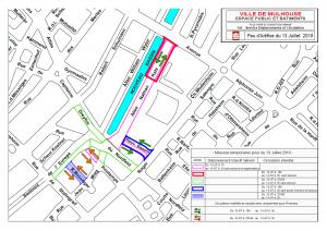 Restrictions de circulation - Feu d'artifice du 14 juillet 2019