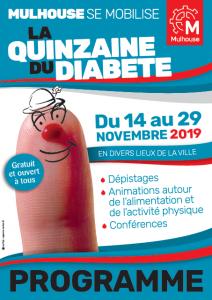 Mulhouse - Quinzaine du Diabete 2019 - Programme