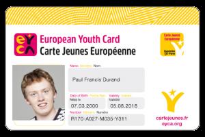 Carte Jeune européenne - Mulhouse