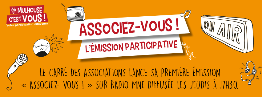 Emission de radio participative : Associez-vous
