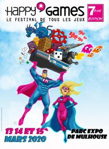 super héros portant divers jeux